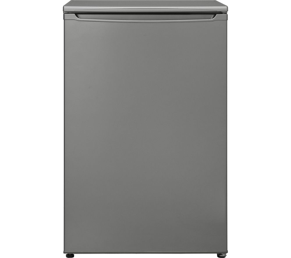 ESSENTIALS CUF55S18 Undercounter Freezer - Silver