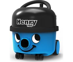 NUMATIC Henry HVR160 Cylinder Vacuum Cleaner - Blue