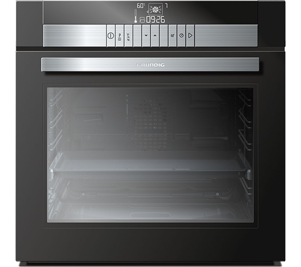 GRUNDIG GEBM45011BP Electric Oven - Black, Black