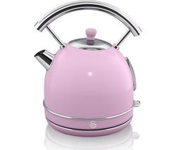 SWAN Retro SK34021PN Traditional Kettle - Pink