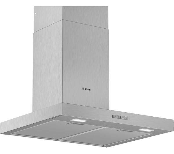 Image of BOSCH Serie 2 DWB64BC50B Chimney Cooker Hood - Stainless Steel