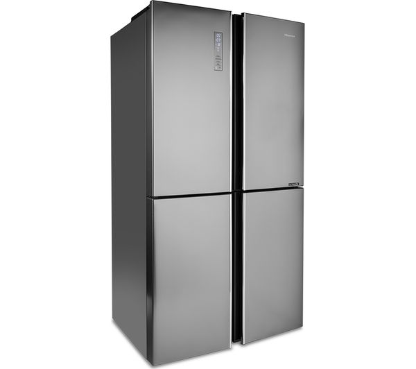 HISENSE RQ689N4BI1 Fridge Freezer - Stainless Steel