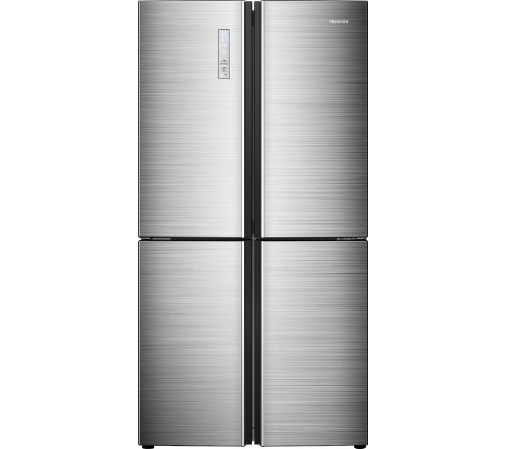HISENSE RQ689N4BI1 Fridge Freezer - Stainless Steel, Stainless Steel