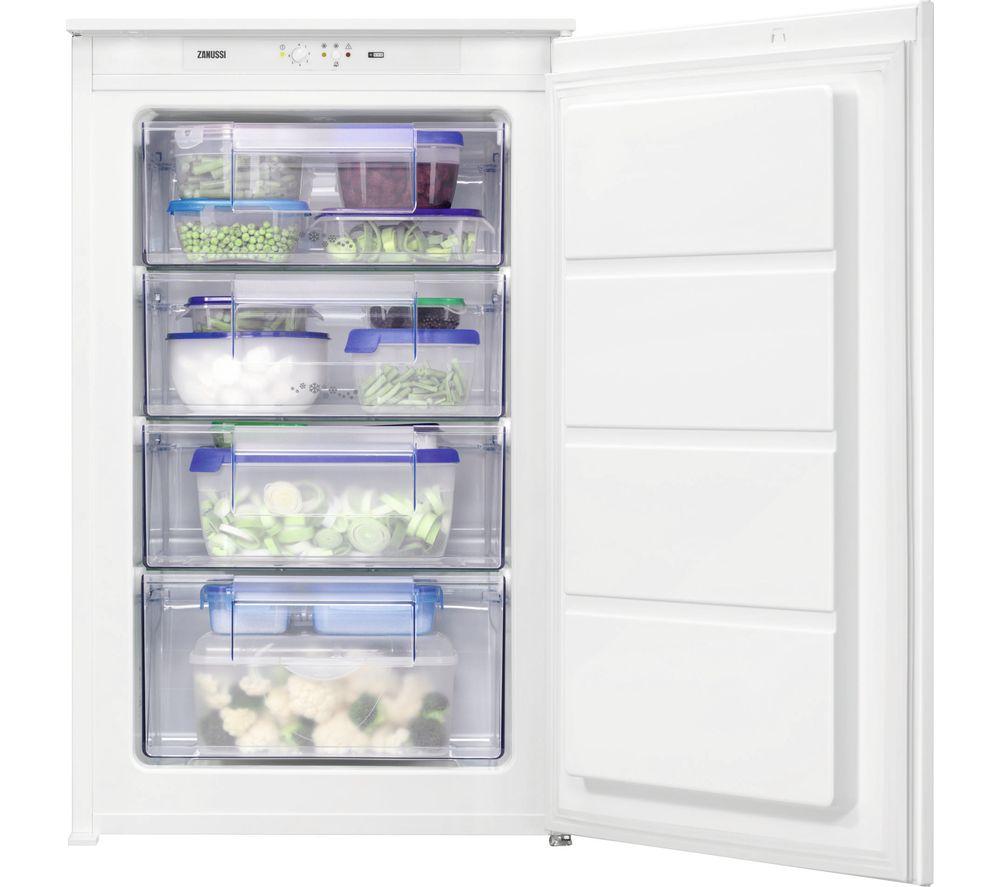 ZANUSSI ZBF11421SV Integrated Freezer, Cream