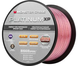 MONSTER Platinum XP MC PLAT XPMS-100 WW Copper Speaker Cable - 30.4 m