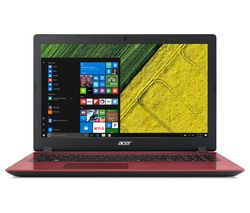 "ACER Aspire 3 15.6"" Intel® Core™ i3 Laptop - 1 TB HDD, Red"