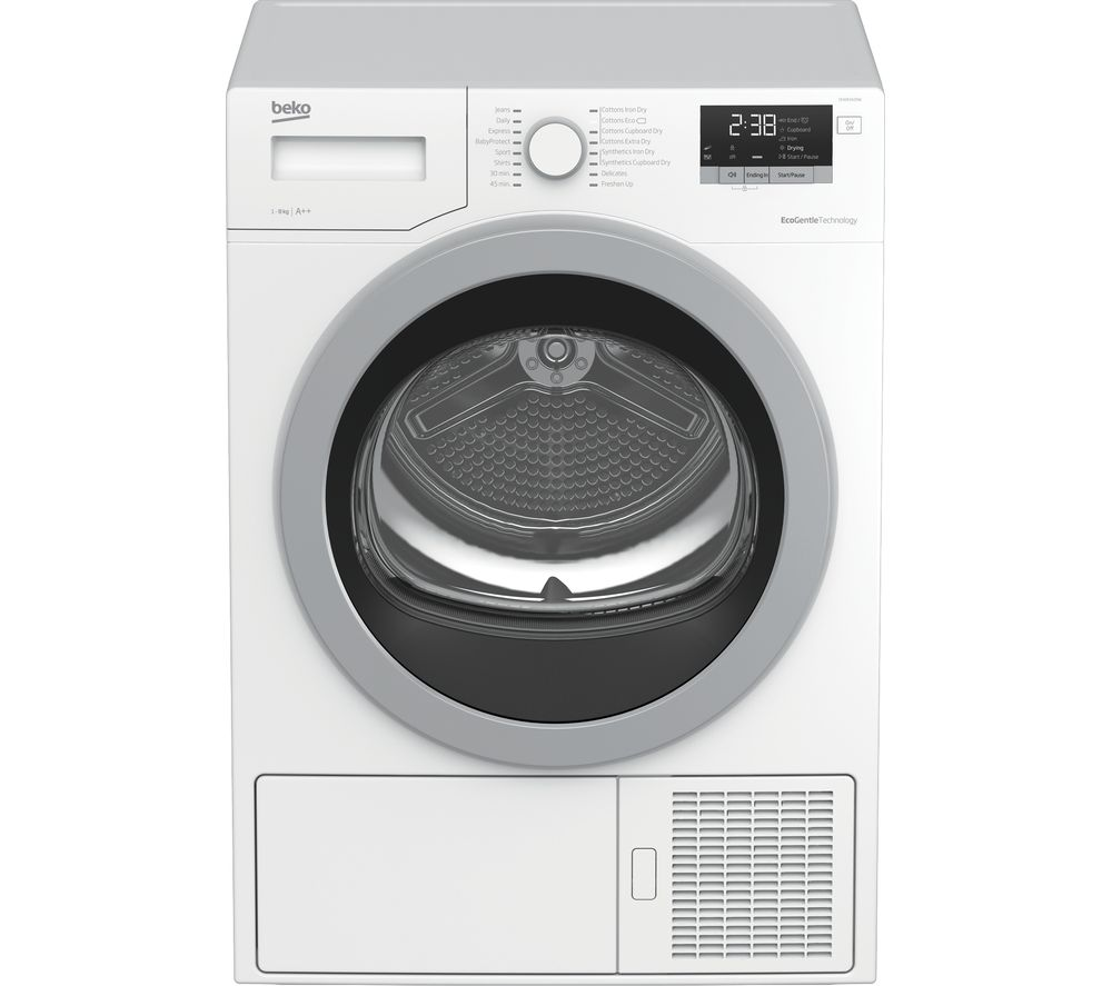 BEKO Pro DHX83420W 8 kg Heat Pump Tumble Dryer - White