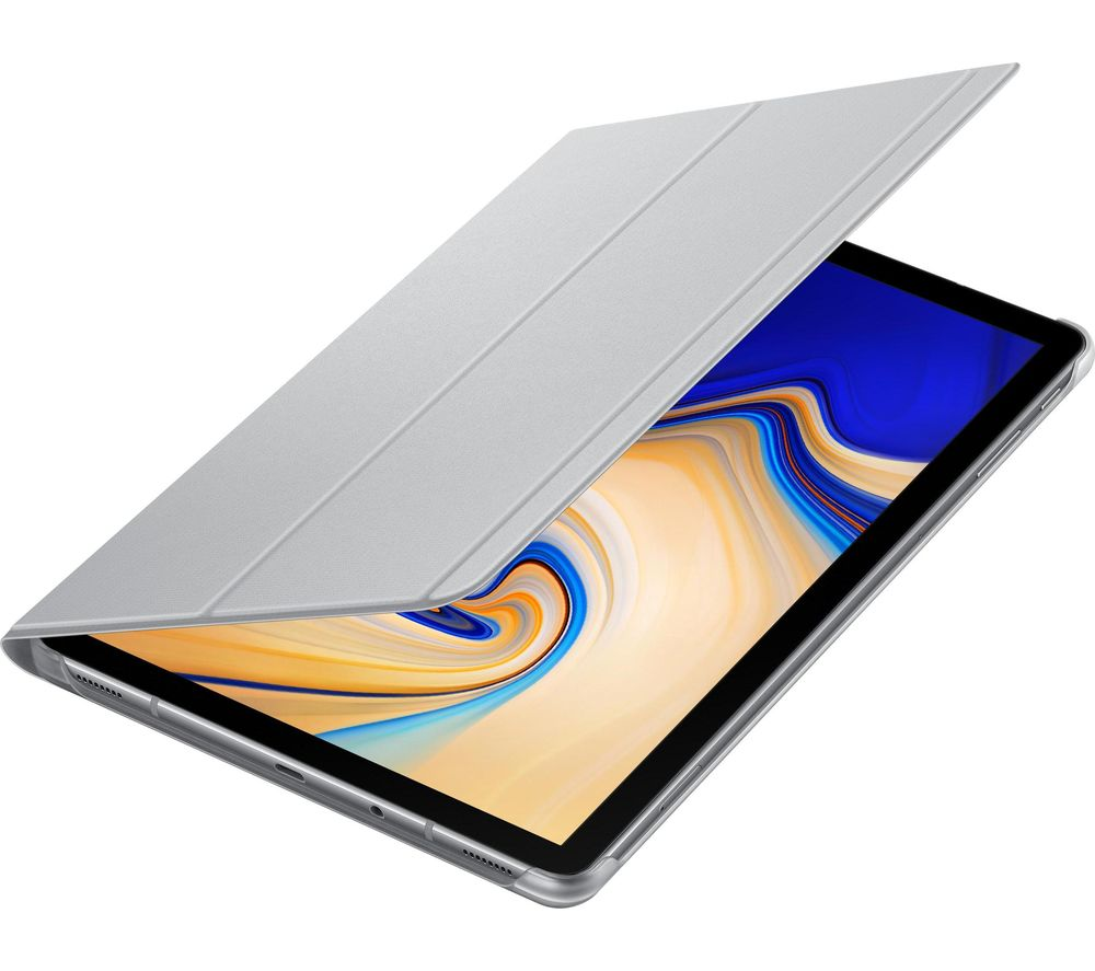 """SAMSUNG 10"""" Galaxy Tab 4 Book Cover Folio - Grey"""