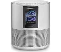 Home Speaker 500 with Amazon Alexa & Google Assistant - Silver