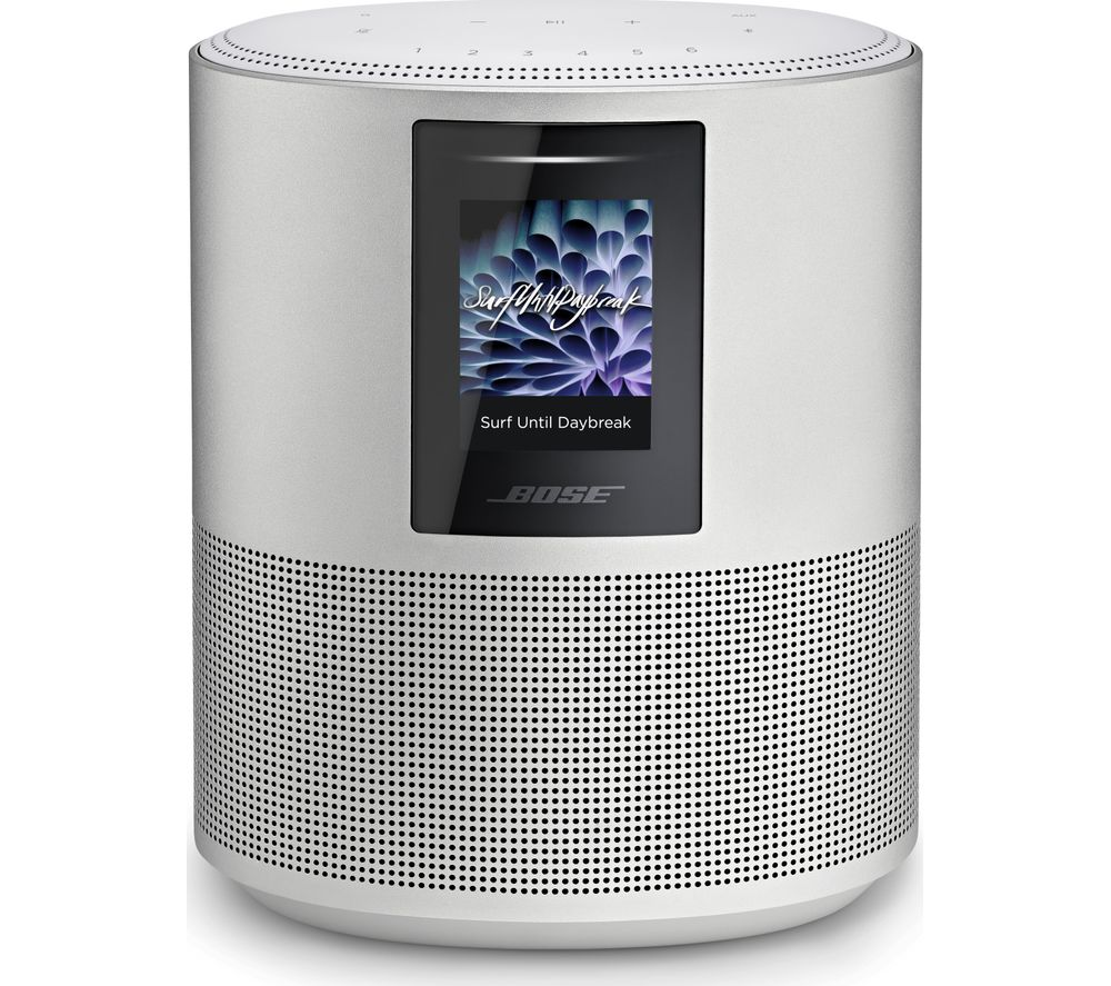 BOSE Home 500 Wireless Voice Controlled Speaker - Silver, Silver