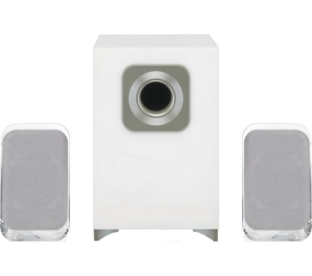 Image of SSP21BT19 2.1 Wireless PC Speakers - White, White