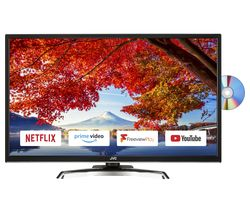 "JVC LT-32C795 32"" Smart LED TV with Built-in DVD Player"
