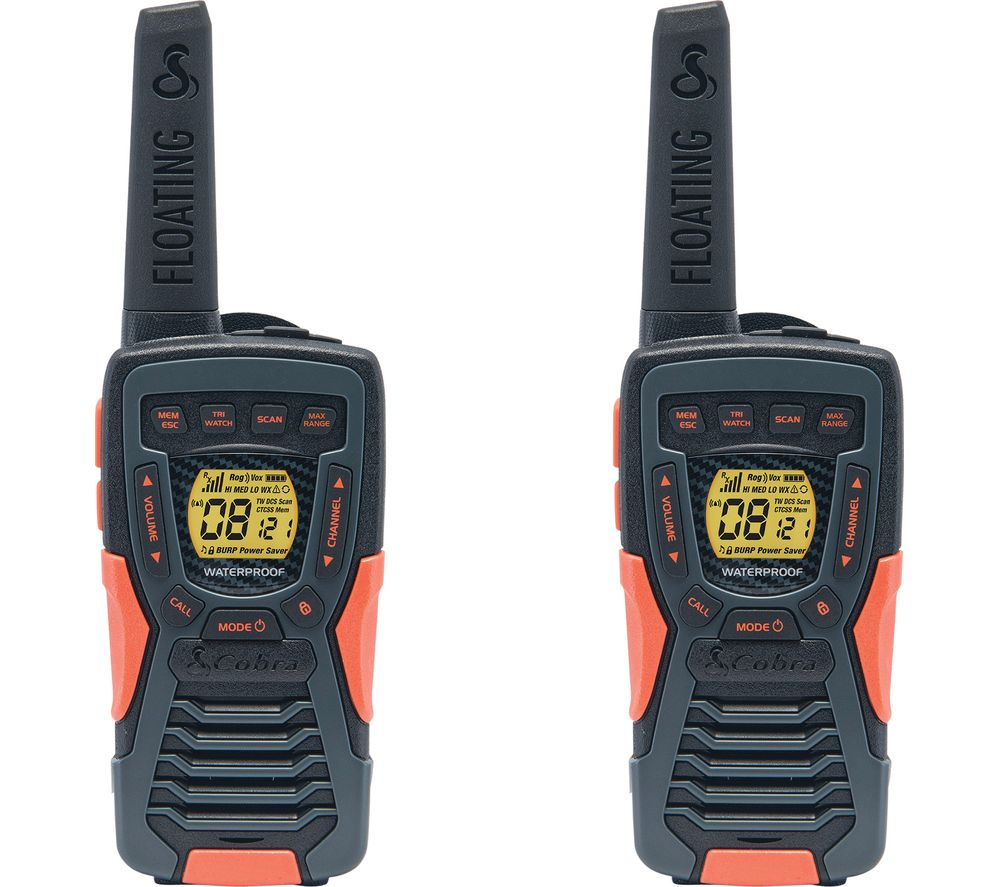 Image of COBRA Adventure AM1035FLT Walkie Talkie - Twin