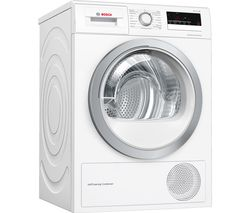 BOSCH Serie 4 WTW85231GB 8 kg Condenser Tumble Dryer - White