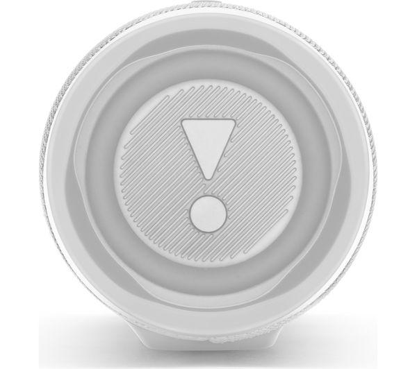 JBL Charge 4 Portable Bluetooth Speaker - White