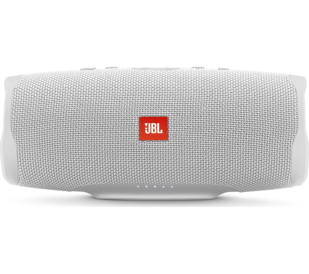 JBL Charge 4 Portable Bluetooth Speaker - White
