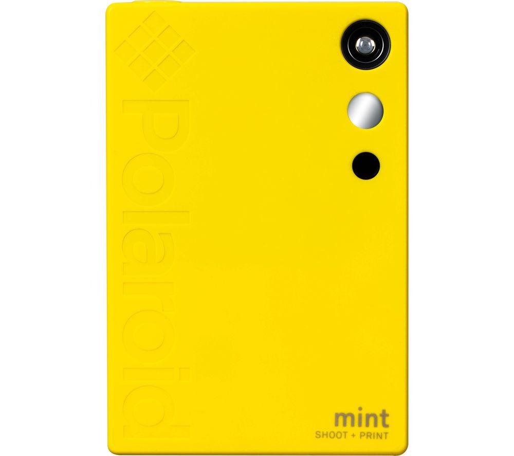 Image of POLAROID Mint Digital Instant Camera - Yellow, Yellow