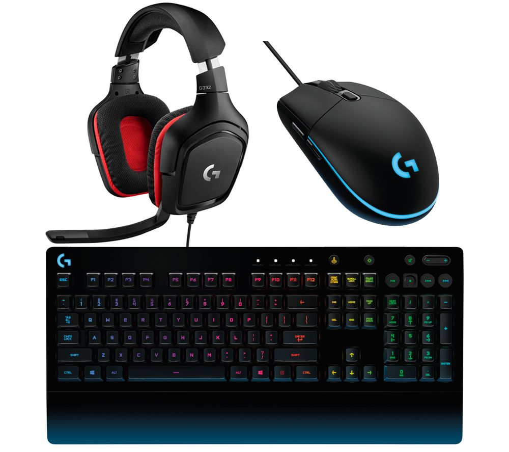 3241ca4b6fd Buy LOGITECH Prodigy Gaming Keyboard, Headset & Mouse Bundle | Free  Delivery | Currys