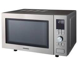 GRUNDIG GMF1030X Compact Solo Microwave - Stainless Steel Best Price, Cheapest Prices