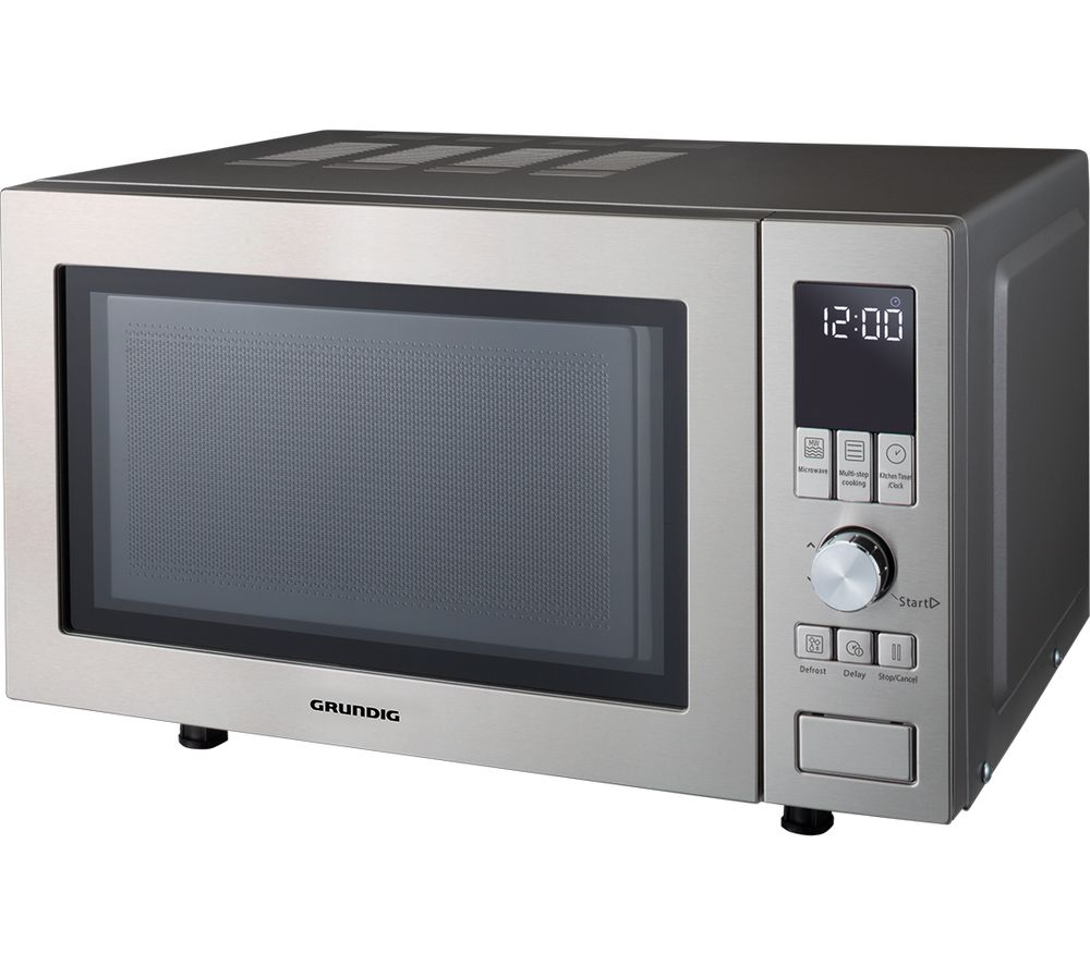GRUNDIG GMF1030X Compact Solo Microwave - Stainless Steel