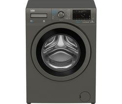 BEKO Pro WDX850130G Bluetooth 8 kg Washer Dryer - Graphite