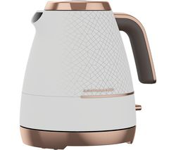 Cosmopolis WKM8307W Jug Kettle - White & Rose Gold