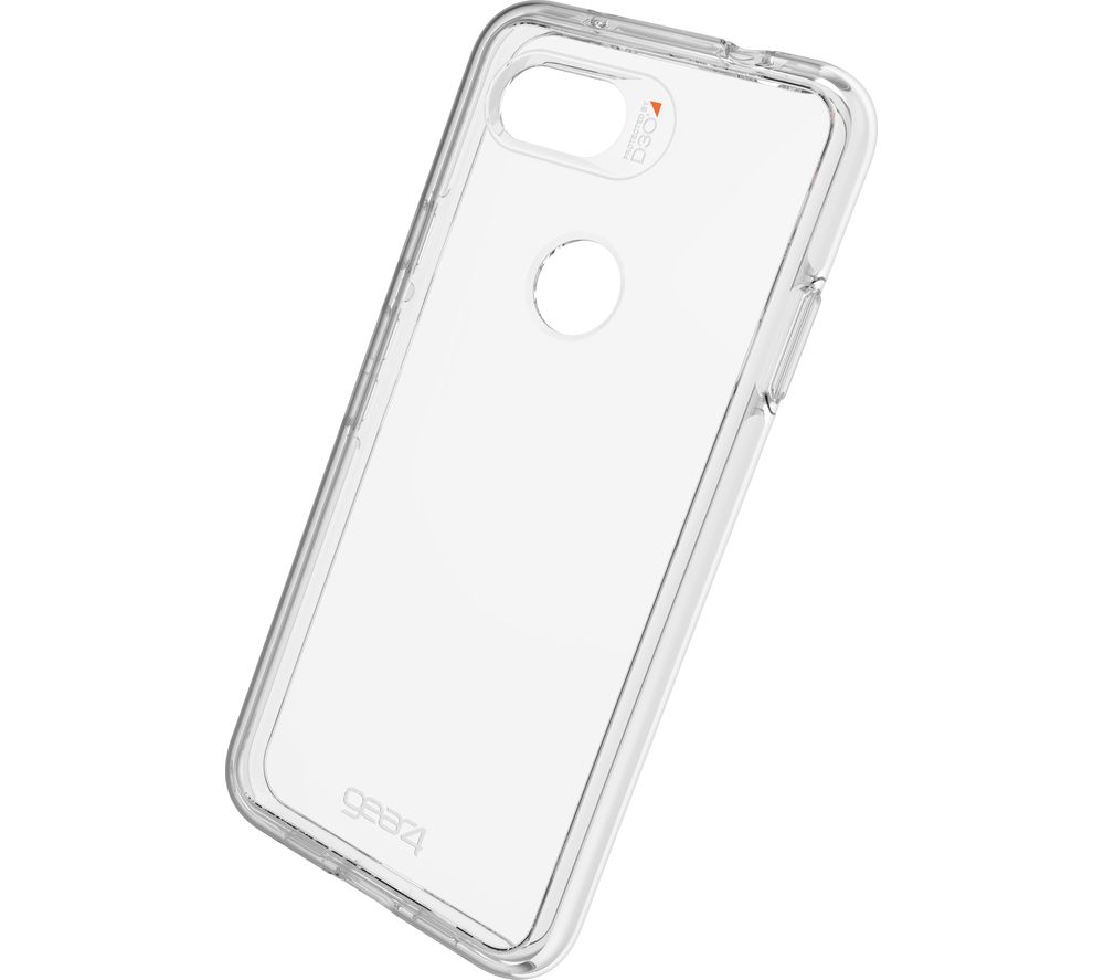 Crystal Palace Google Pixel 3A Clear View Case - Clear