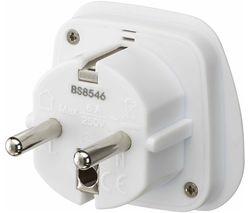 LUKEU20 UK to EU Travel Plug Adapter