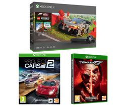 MICROSOFT Xbox One X, Forza Horizon 4, LEGO Speed Champions, Tekken 7 & Project Cars 2 Bundle