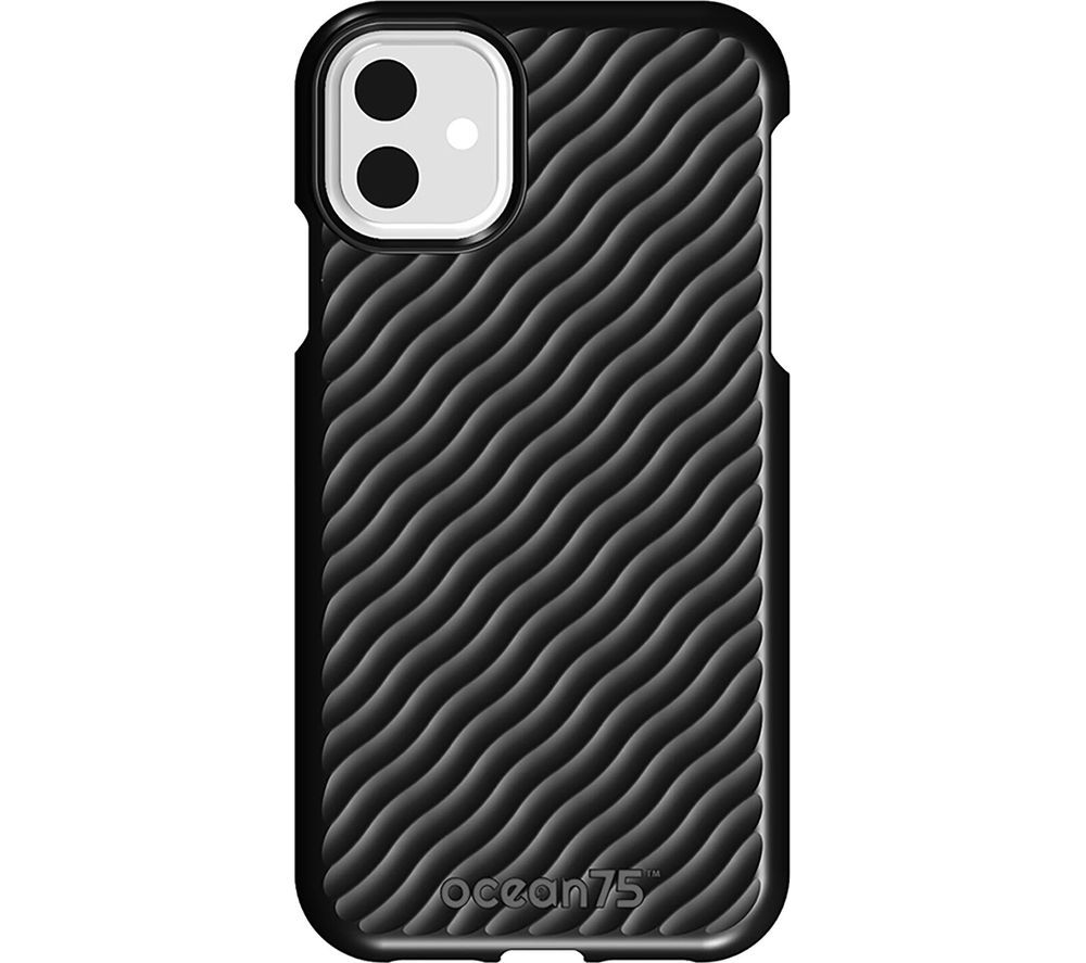 OCEAN75 Ocean Wave iPhone 11 Case - Deep Black