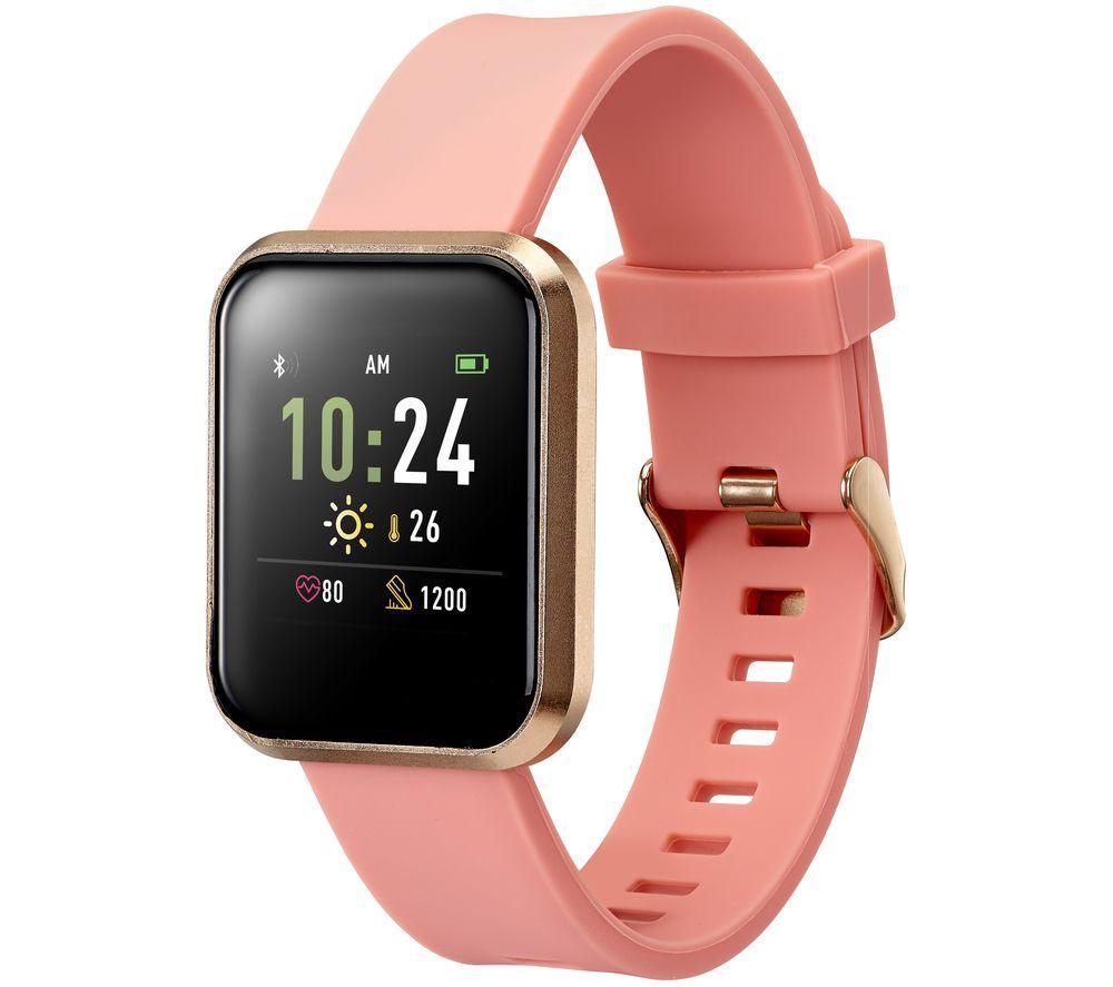GOJI GSMTWRG20 Smart Watch - Rose Gold, Medium
