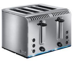 Buckingham 20750 4-Slice Toaster - Stainless Steel
