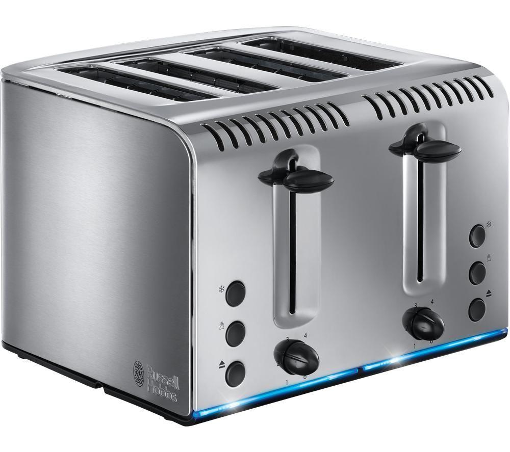 RUSSELL HOBBS Buckingham 20750 4-Slice Toaster - Stainless Steel