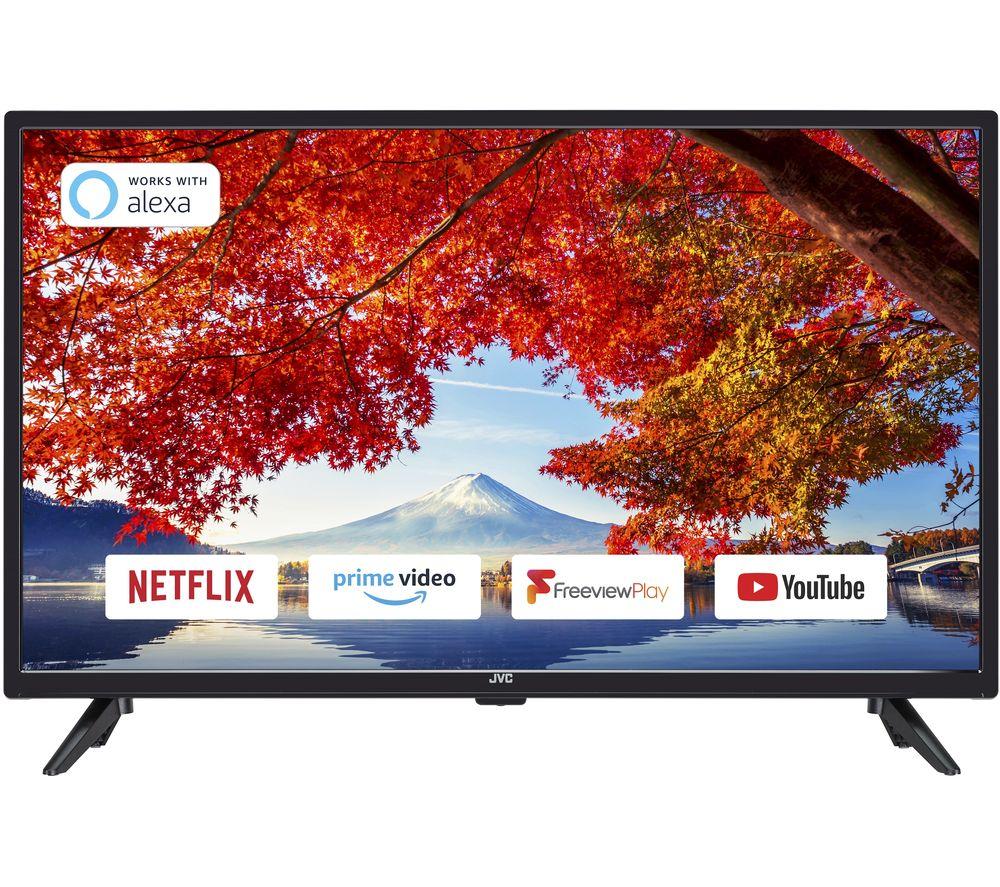"""Image of 32"""" JVC LT-32C600 Smart HD Ready LED TV"""