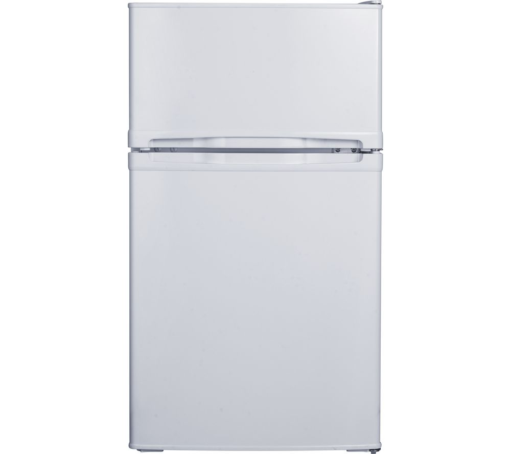 ESSENTIALS CUC50W20 Undercounter Fridge Freezer - White, White