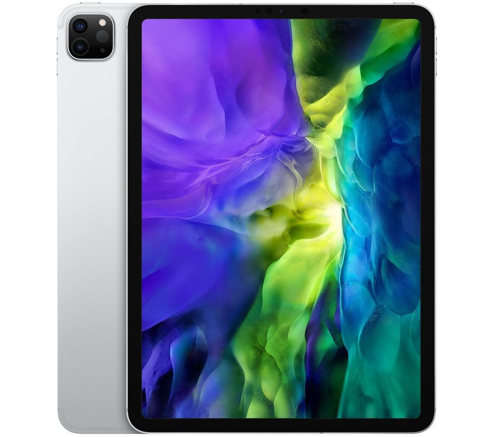 """Image of Apple 11"""" iPad Pro (2020) Cellular - 128 GB, Silver, Silver"""