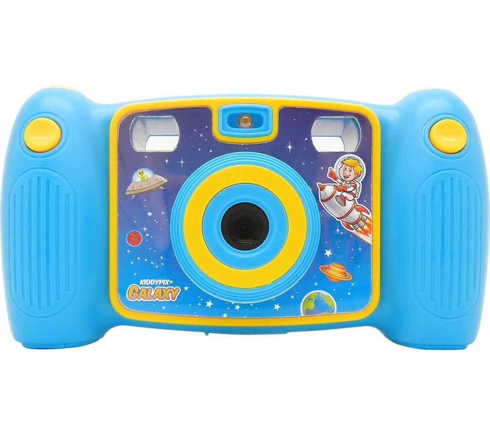 Click to view product details and reviews for Easypix Kiddypix Galaxy Compact Camera Blue Yellow Blue.