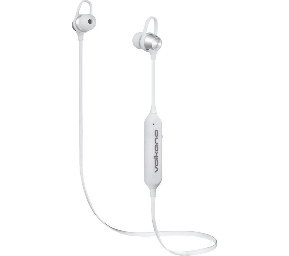 VOLKANO Rush Series 2.0 VK-1106-SL Wireless Bluetooth Sports Earphones - Silver