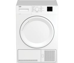 DTKCE80021W 8 kg Condenser Tumble Dryer - White
