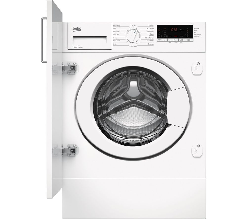 BEKO WTIK74111 Integrated 7 kg 1400 Spin Washing Machine