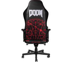 HERO DOOM Edition Gaming Chair - Black & Red