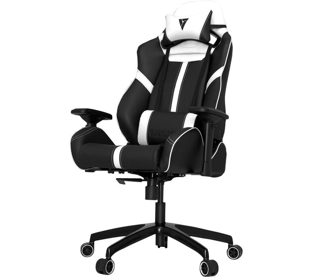 VERTAGEAR Racing S-Line SL5000 Gaming Chair - Black & White