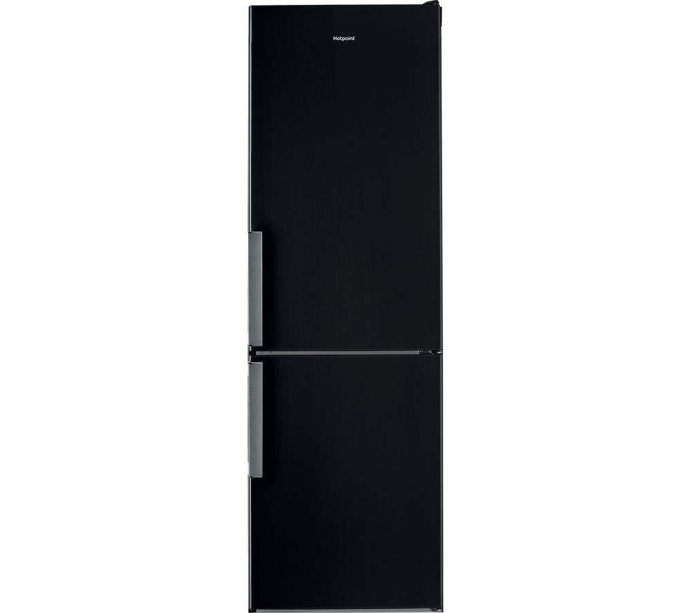 HOTPOINT Day1 H5T 811I KH 1 60/40 Fridge Freezer - Black, Black