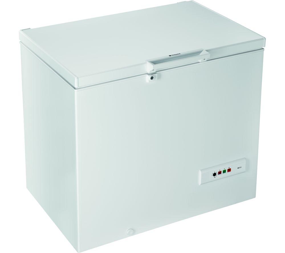 HOTPOINT CS1A 250 H FA 1 Chest Freezer - White, White