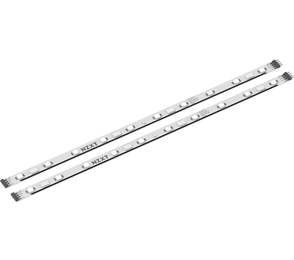 NZXT Hue 2 Magnetic RGB LED Strips - 2 x 250 mm