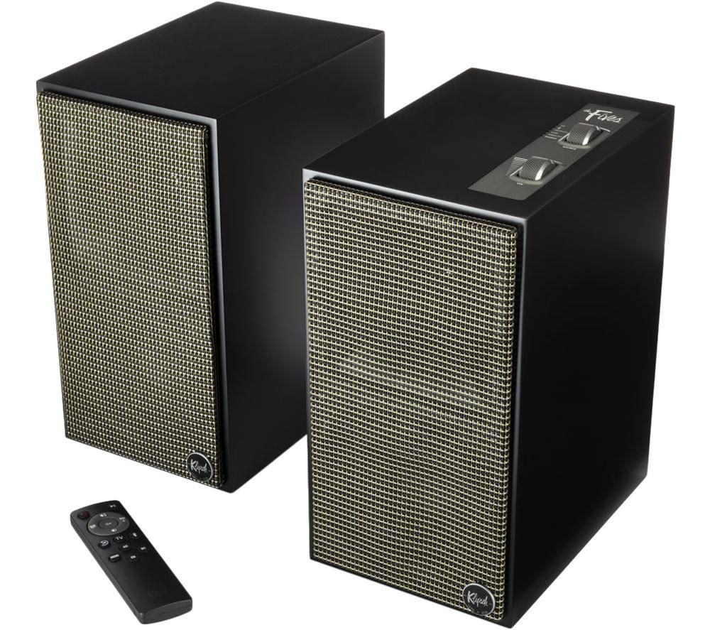 KLIPSCH The Fives Bluetooth Speakers - Matte Black