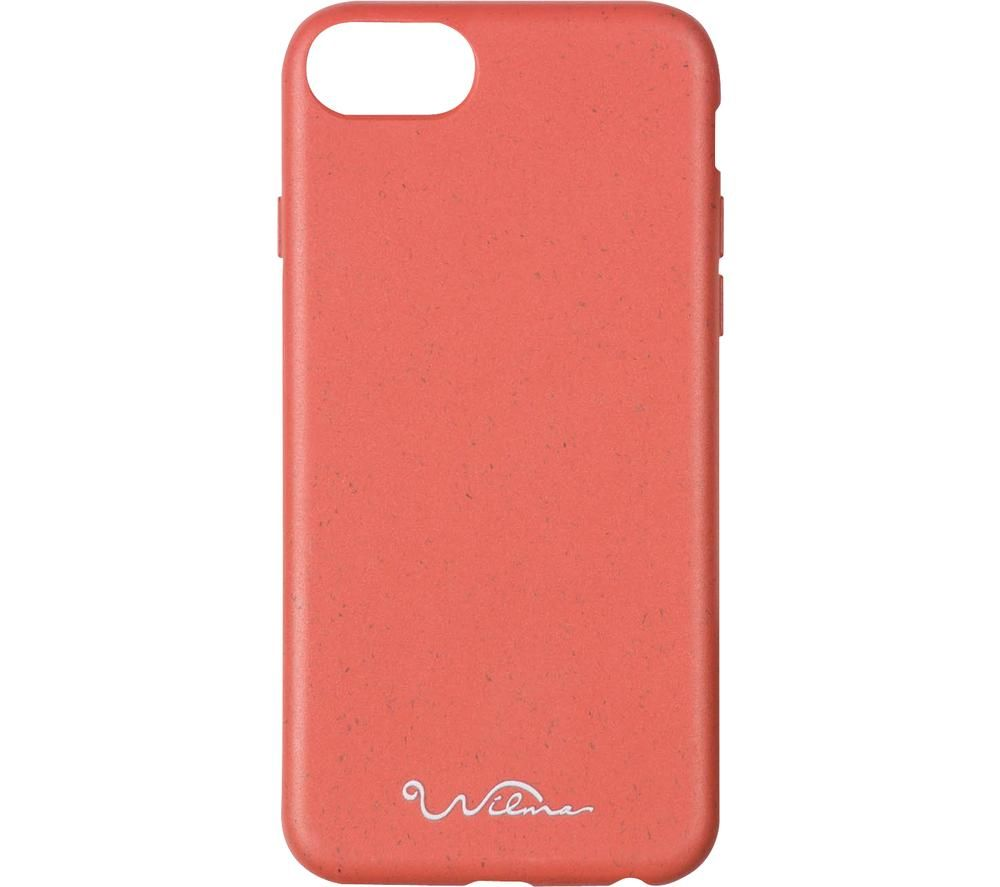 WILMA Stop Ocean Plastic Pollution iPhone 6 / 6S / 7 / 8 / SE2 Case - Red
