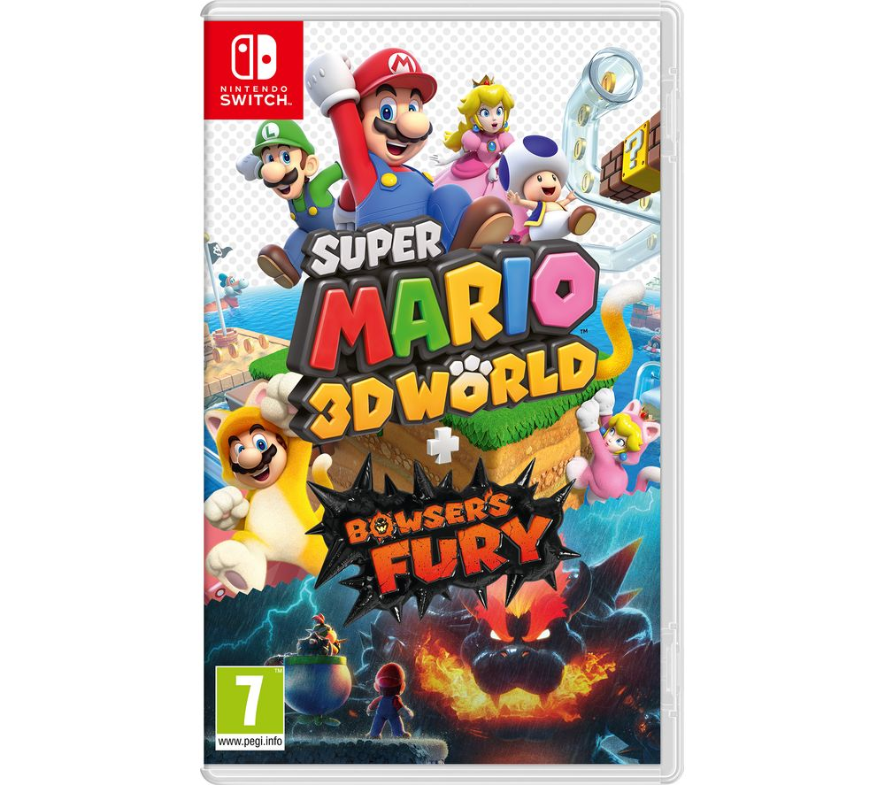 NINTENDO SWITCH Super Mario 3D World & Bowser's Fury