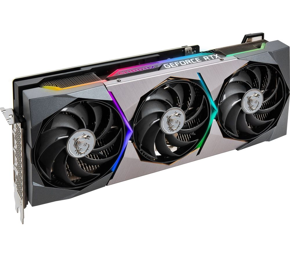MSI GeForce RTX 3080 10 GB SUPRIM X Graphics Card
