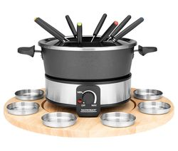 42566 Fondue Set - Black & Silver